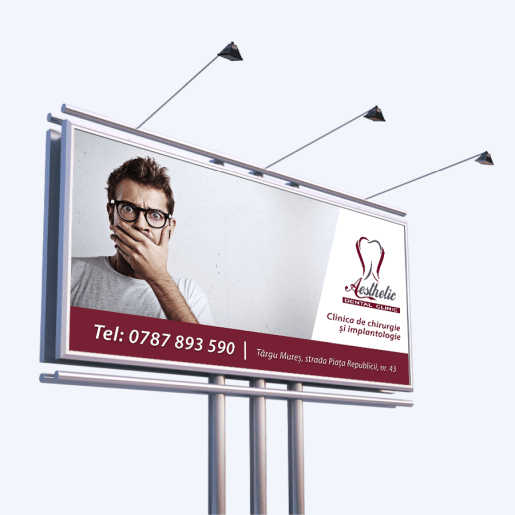 Banner publicitar Aesthetic Dental Clinic