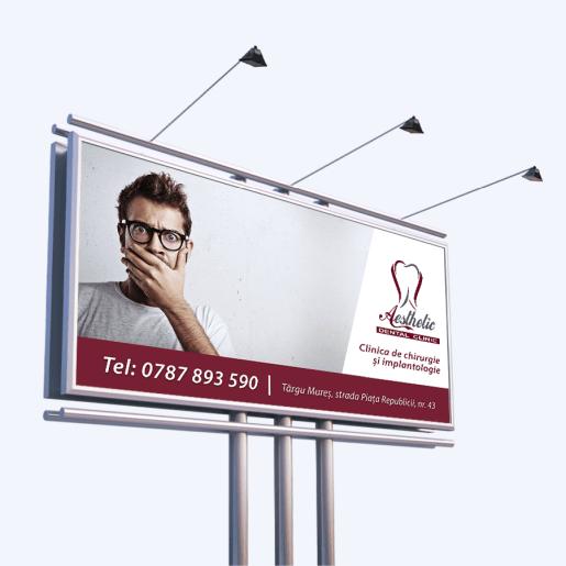 Banner publicitar Aesthetic Dental Clinic