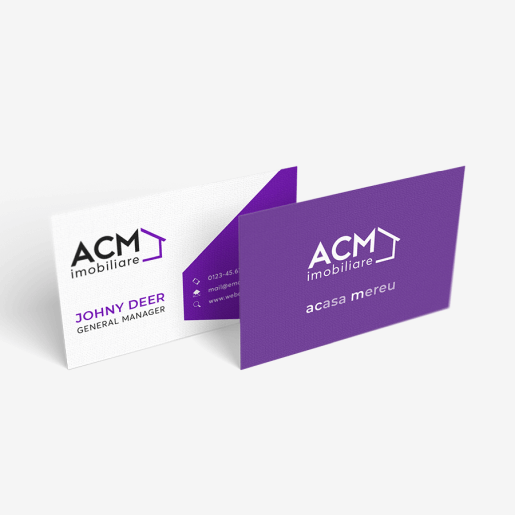 Carte de vizita ACM Imobiliare