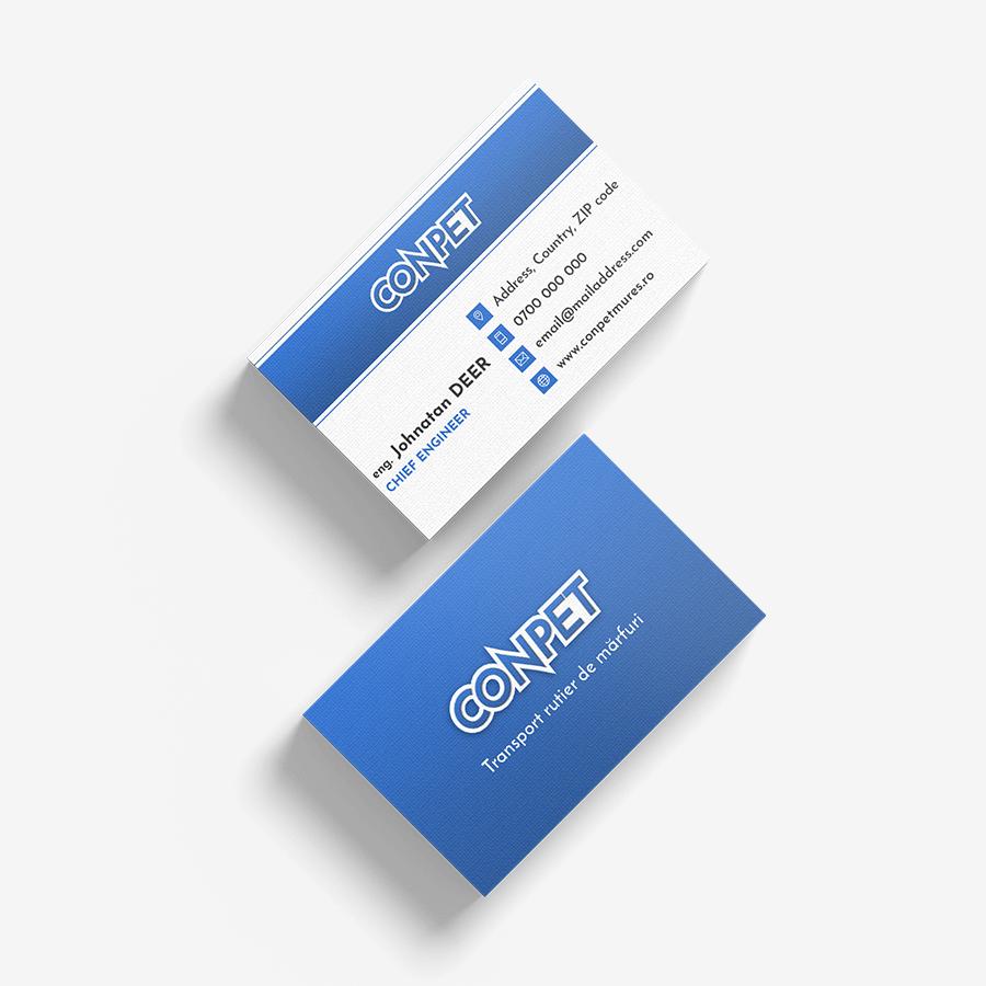 Carte de vizita Conpet