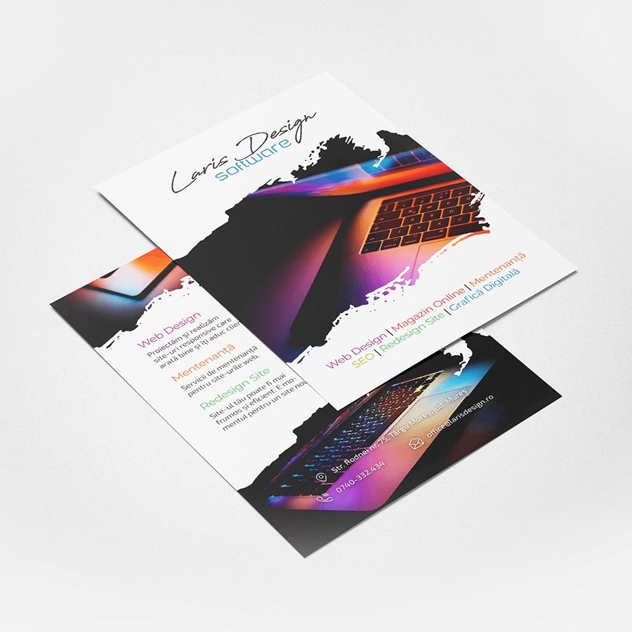 Flyer Laris Design