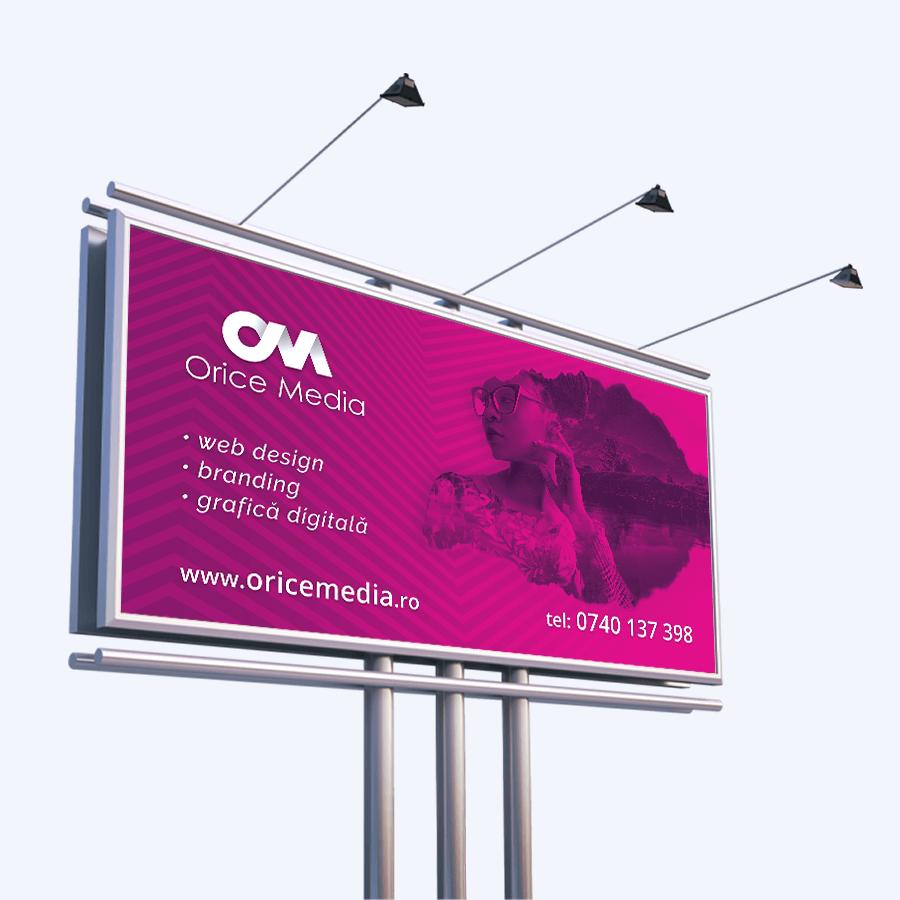 Banner publicitar Orice Media