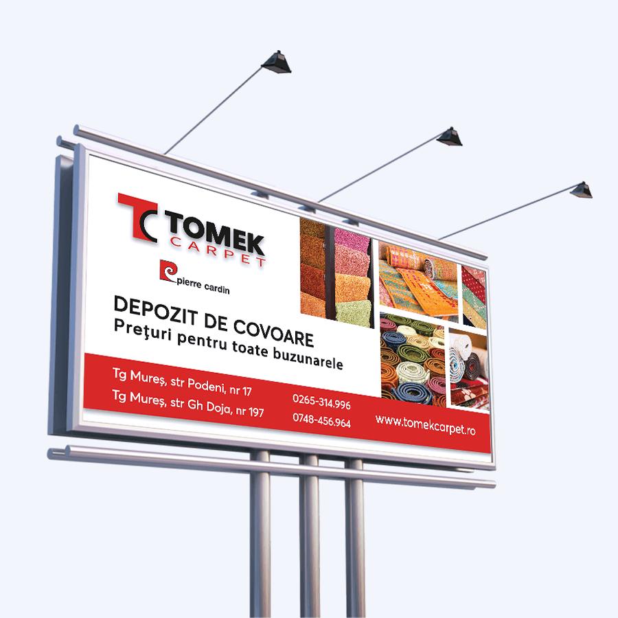 Banner Publicitar Tomek