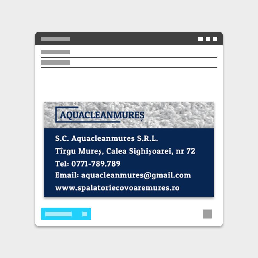 Semnatura email Aquacleanmures