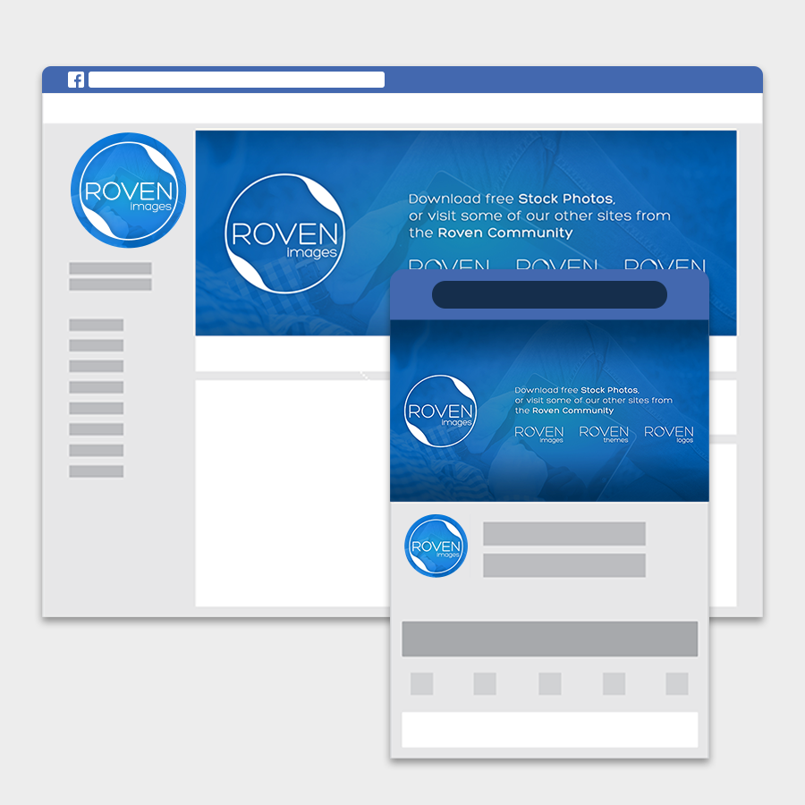Facebook Mockup Rovenimages