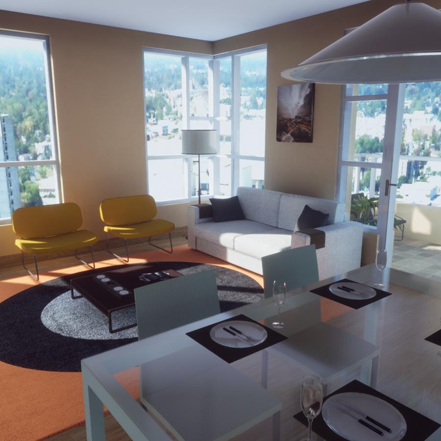 Randare 3d apartament